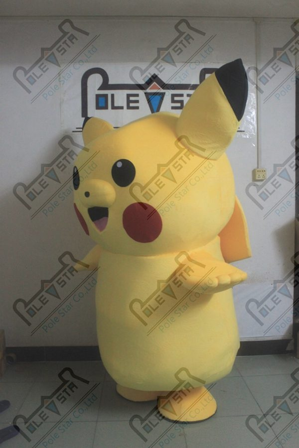 quality Pikachu mascot costumes Pocket Wizard Pokemon